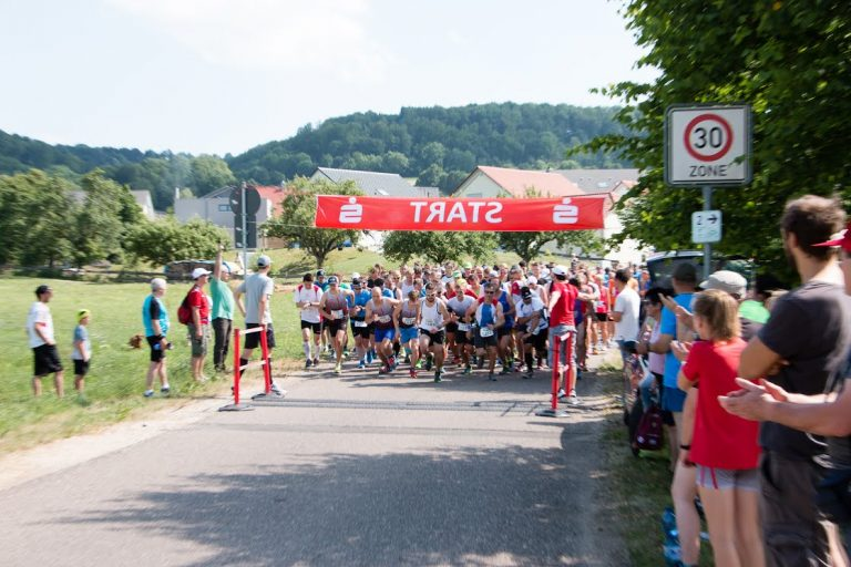 Start des Panoramalaufs